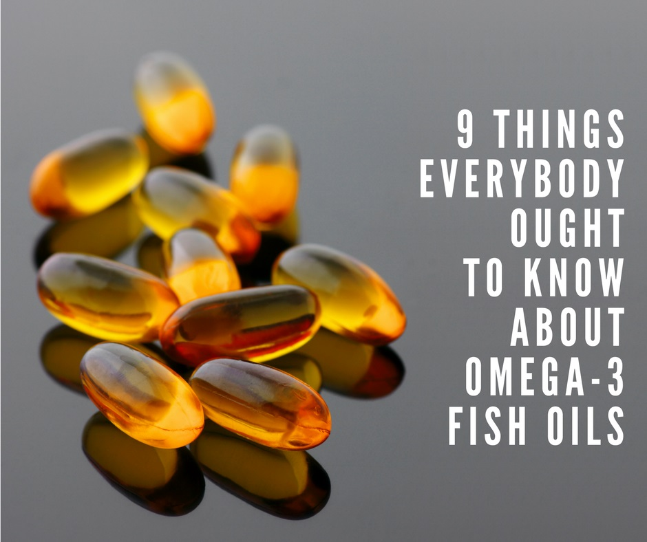 Omega 3 Fish-Oil Supplements.
