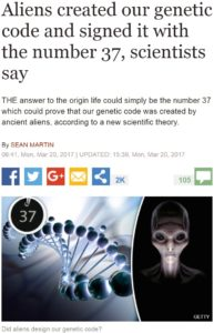 alien DNA mitochondria genetic code
