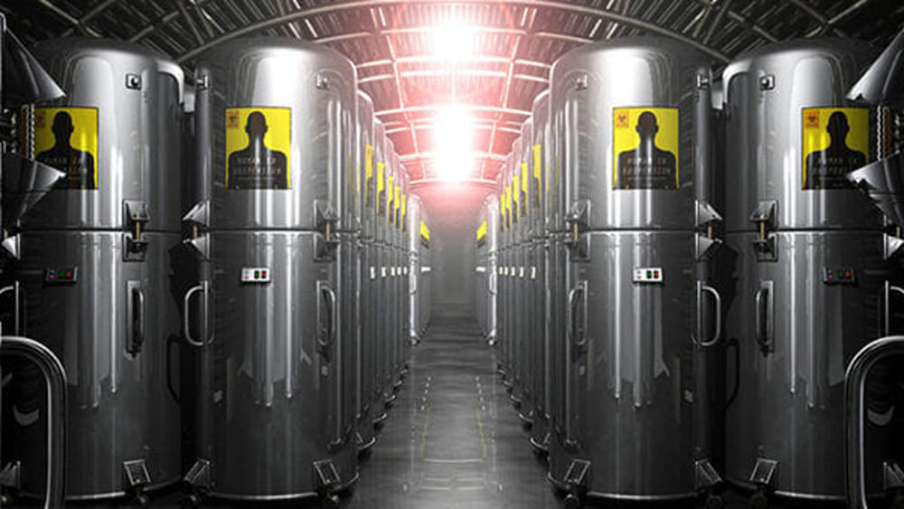 cryonics containers