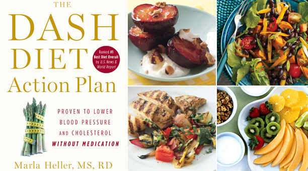 Dash Diet book by Marla Heller